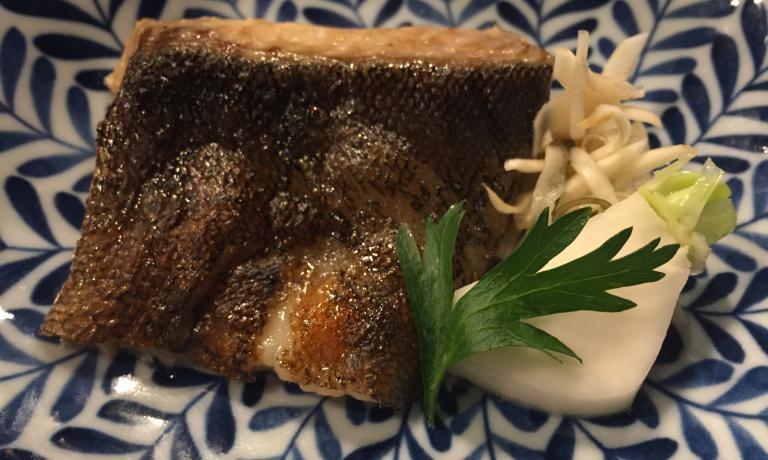 Gindara, merluzzo nero dell'Alaska in salsa di miso