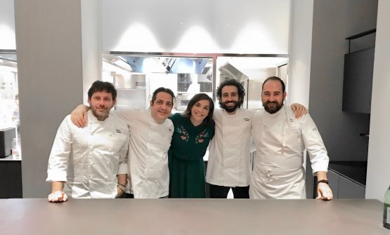 Quattro chef, altrettanti deliziosi piatti di scarti per la presentazione de Il Grande Libro delle Bucce