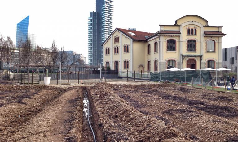 Di fianco al Ratanà, in via de Castilla, a breve nascerà un grande orto didattico