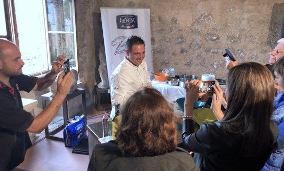 Domenico Iavarone del neostellato José Restaurant diTorre del Greco
