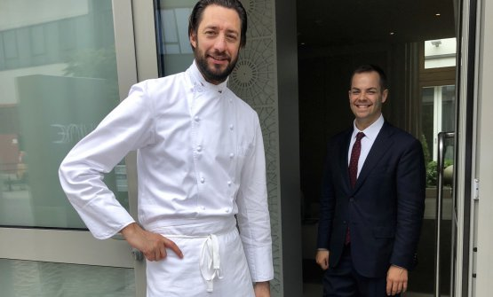 Luigi Taglienti, 40 anni, chef di Lume a Milano, u