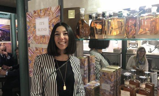 Annacarla Berta presenta le grappe della distilleria
