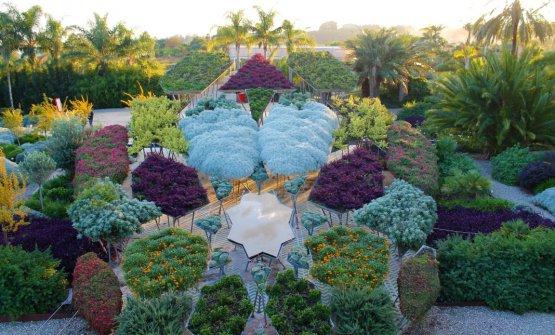 Uno scorcio del bellissimo giardino di Radicepura
