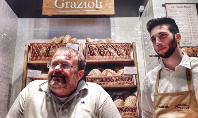 Massimo Grazioli porterà al Mercato ogni giorno da Legnano le sue tantissime varietà di pane