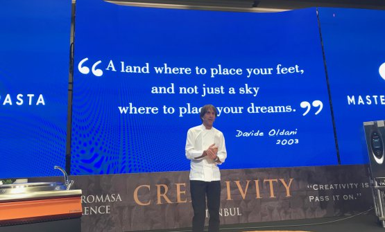 A land where to place your feet and not just a sky where to place your dreams