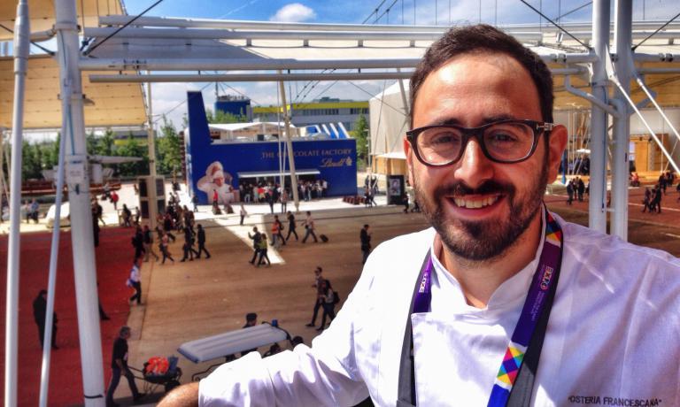 Davide Di Fabio, born in 1985, is at work at Osteria Francescana since 2005