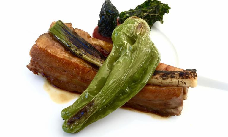 La Porca Costina, un altro dei nuovi piatti di Marco Sacco: golosissimo