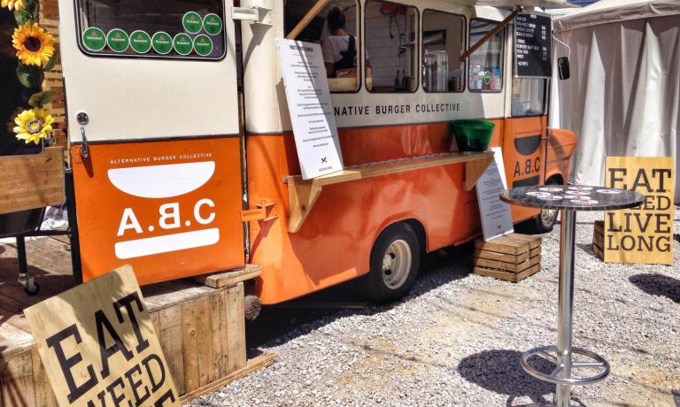 The Alternative Burger Collective food truck