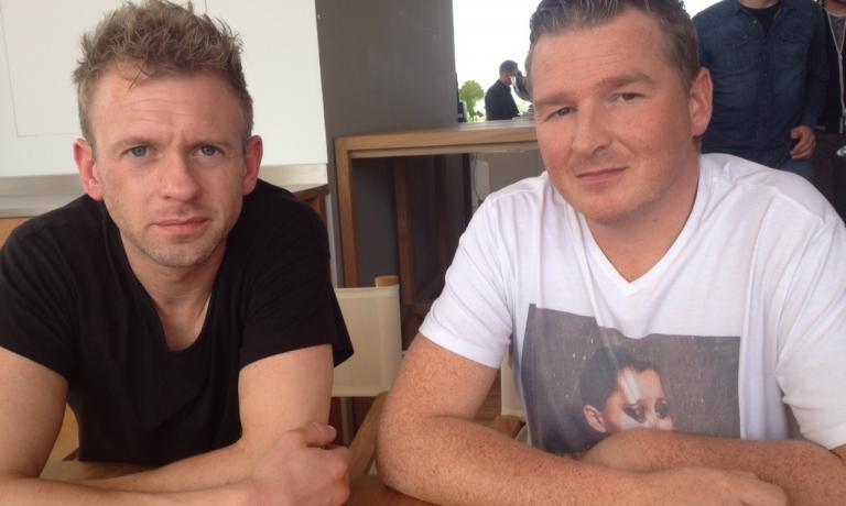 IN TERRAZZA. Jan Tournier e Frederik Deceuninck