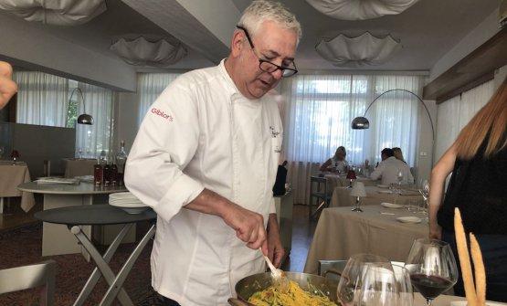Walter Ferretto, chef esperto delCascinale Nuovo