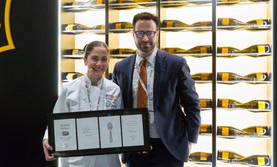 Rosanna Marziale conCarlo Boschi, senior brand managerVeuve Clicquot