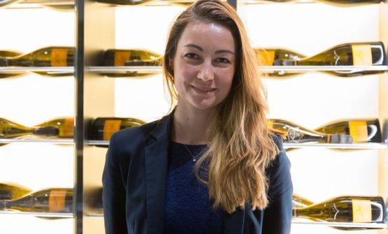 Gaelle Goossens, enologa Veuve Clicquot