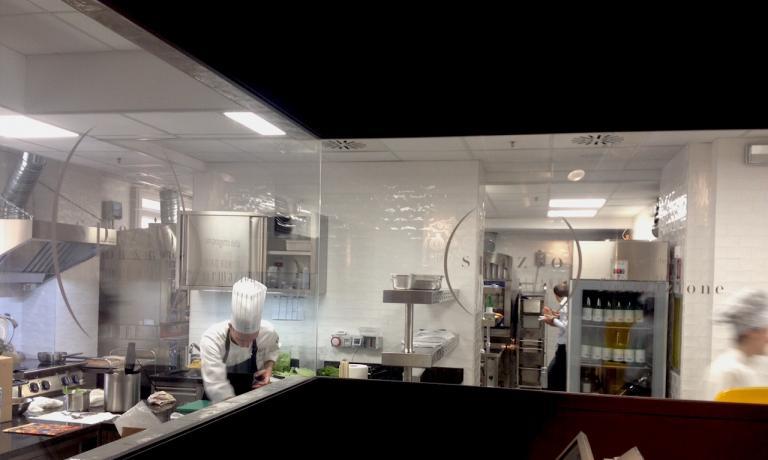 Cucina a vista di 80 mq