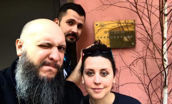 Marco Baccanelli e FrancescaBarreca, i fooders di Mazzo