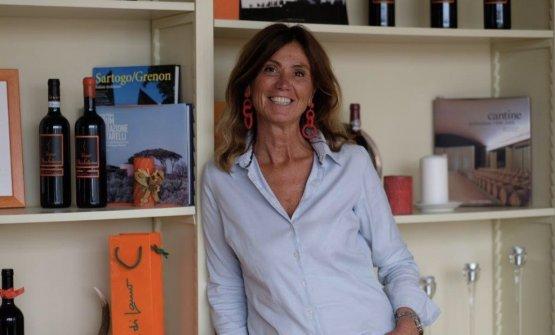 Gianna Neri, fondatrice dell'azienda vitivinic