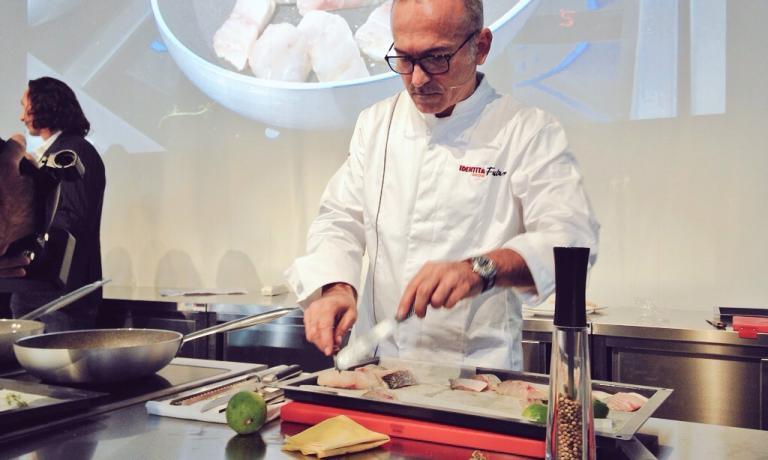 Elio Sironi, chef di Ceresio 7 a Milano: il futuro delle pentole antiaderenti