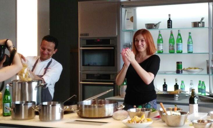 EVVIVA. Fabrizio Mantovani con Eleonora Cozzella, moderatrice dell'incontro