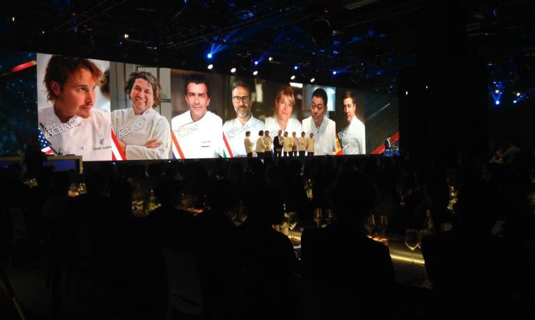 FILOTTO REALE. La grande giuria che ha decretato il vincitore del S.Pellegrino Young Chef 2015 (foto Elisa Pella)