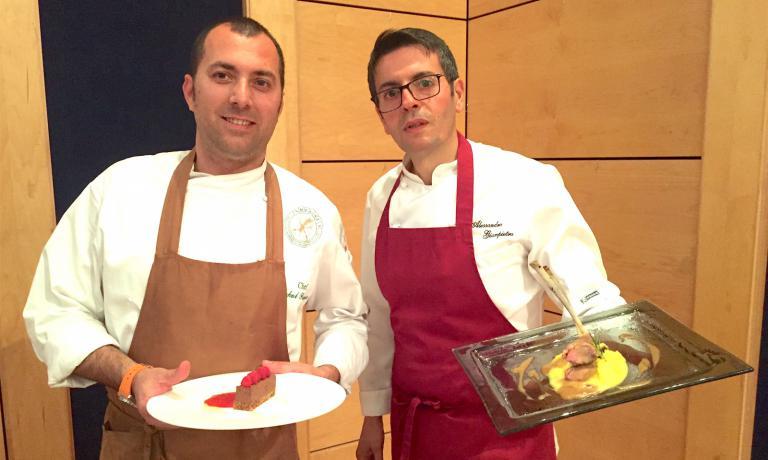 Sokol Prenga e Alessandro Giampietro
