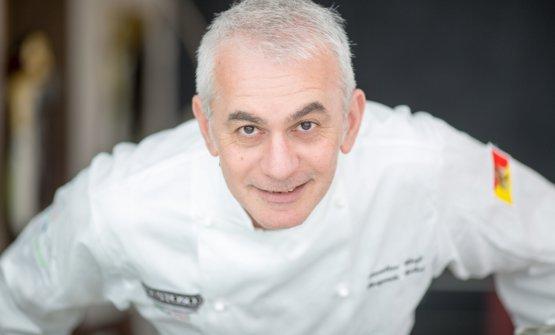 Lo chef Pasquale Caliri