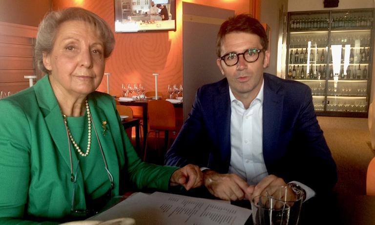 Bruna Saviotti, amministratore delegato di Tomato Farm e Alessandro Gandolfodelgruppo Gavio