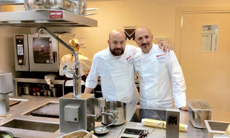 E' Andrea Ribaldone, chef del I Due Buoi di Alessa