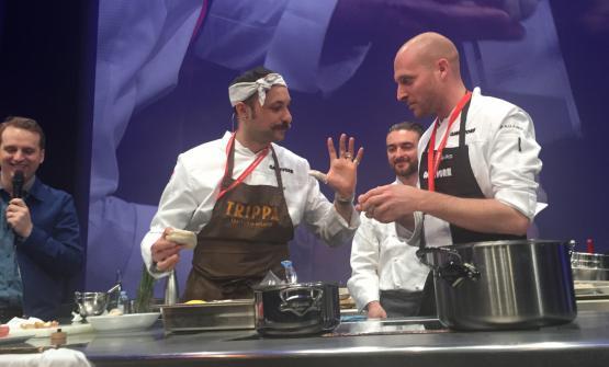 Diego Rossi di Trippa (nella foto, con la bandana)