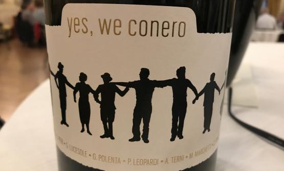 Tra i presenti, i vignaioli diYes,We Conero,piccoli produttori di Rosso Conero