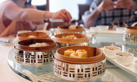 I magnifici dim sum del Lung King Heen, all'interno del Four Seasons hotel di Hong Kong, tappa imperdibile (foto Cuiisine)