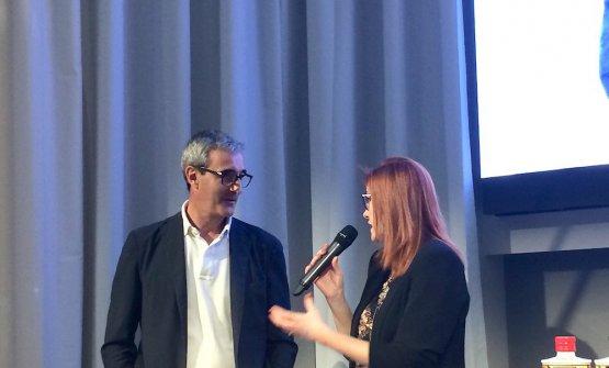 Eleonora Cozzella con Riccardo Felicetti