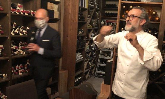 Beppe Palmieri e Massimo Bottura, a settembre festeggeranno 20 anni di liaison professionale