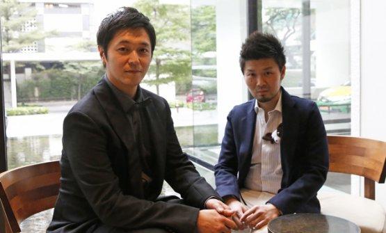 Hiroyasu KawateeZaiyu Hasegawa, chef patron dei ristoranti Florilège e Den di Tokyo, Giappone, rispettivamente, terzoe secondonella classifica continentale50Best Asia(fotojapantwo.com)