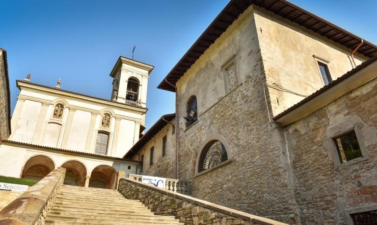 Il millenario complesso di Astino, che ospiterà l'evento del 29 maggio
