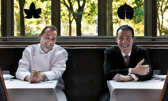 Daniel Humm e Will Guidara