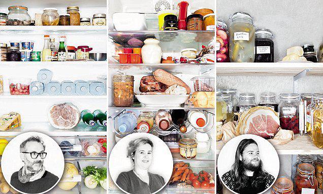 """Oggi è laGiornata Mondiale della Terra 2016, la più grande manifestazione ambientale del pianeta. Tutti possiamo contribuirenel nostro piccolo, e non solo oggi(Immagine tratta dal libro """"Inside chefs' fridges, Europe�, Taschen con le immagini dei frigoriferi di Massimo Bottura, Hélène DarrozeeMagnus Nilsson)"""