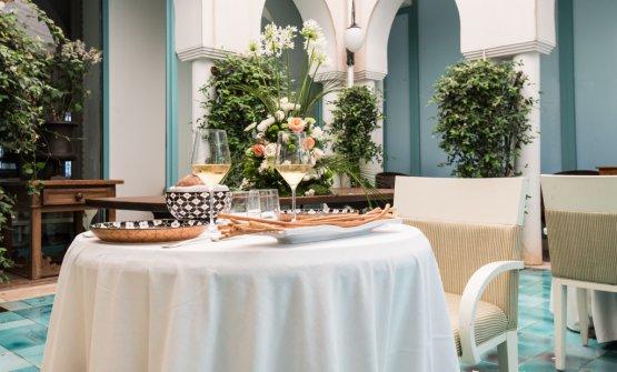 L'interno del ristorante Charleston