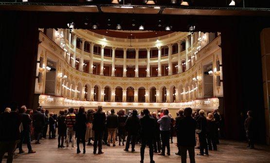 Il Teatro Galli di Rimini, cornice dell'evento