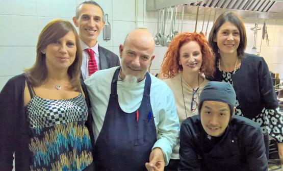 In prima fila: Irene Taormina, Angelo ed Ernesta Treno, Mariafranca Todaro