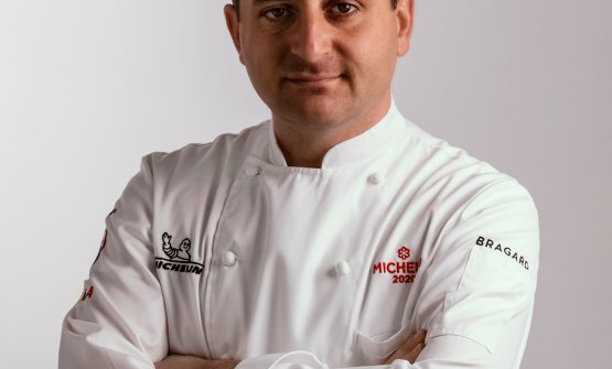 Lo chef Domenico Iavarone