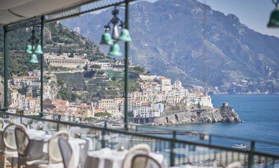 Dalla terrazza, Amalfi
