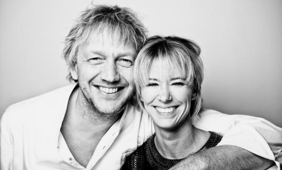 Jef SchuureNadine Mögling: coppia nella vita e nel lavoro, alla guida del ristoranteBij Jefsull'isola di Texel, a nord di Amsterdam