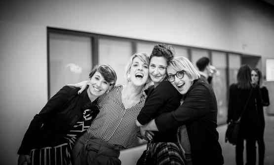 Giulia Marcucci, Giulia Dirindelli, Eleonora Guerini,Elisia Menduni