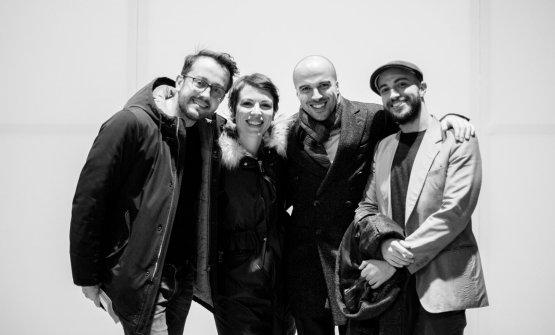 Alessandro Negrini, Eleonora Barbone,Simone e Paolo Vizzari