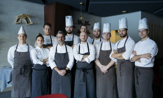 Lo staff del Summit Restaurant