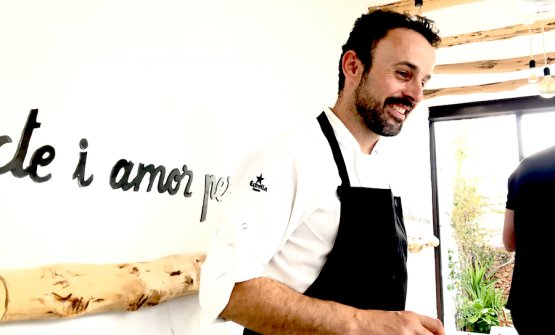 Jose Miguel Bonet, 37-year-old-chef at Ventall, the family restaurant established in 1982 in Ibiza