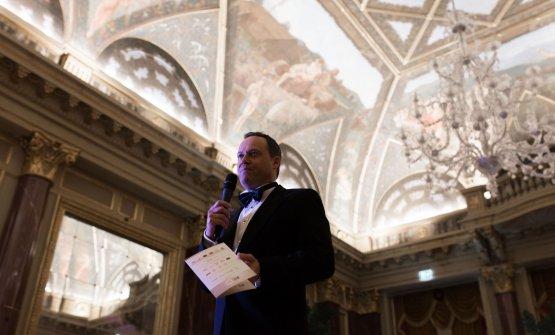 Luca Marchini, presidente in carica dei JRE italiani, alla cena di gala al St. Regis a Roma