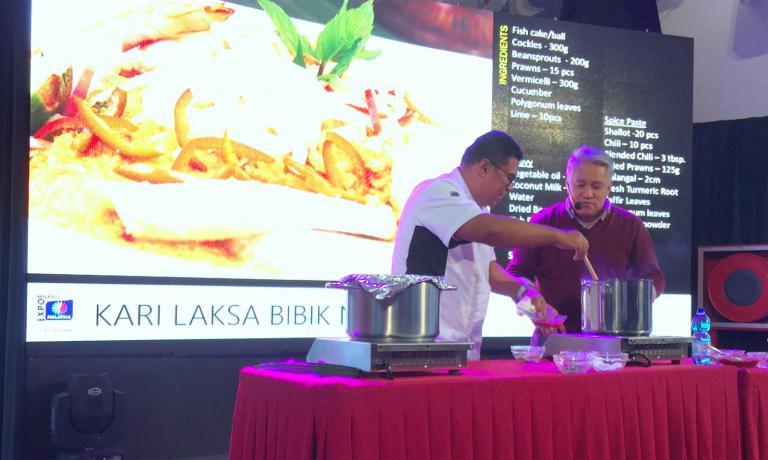 il cooking show di Datuk Chef Wan, il miglior cuoc