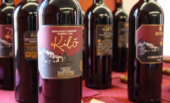 Il Kilò è realizzato con Cabernet Sauvignon in purezza