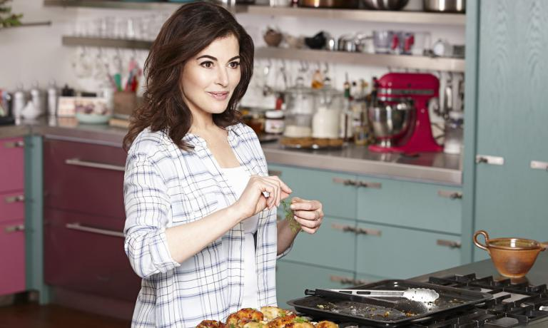 Londoner Nigella Lawson, born in 1960, is one of t