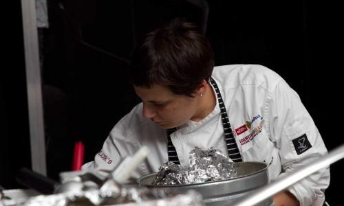 Antonia Klugmann, born in Trieste, is the chef at